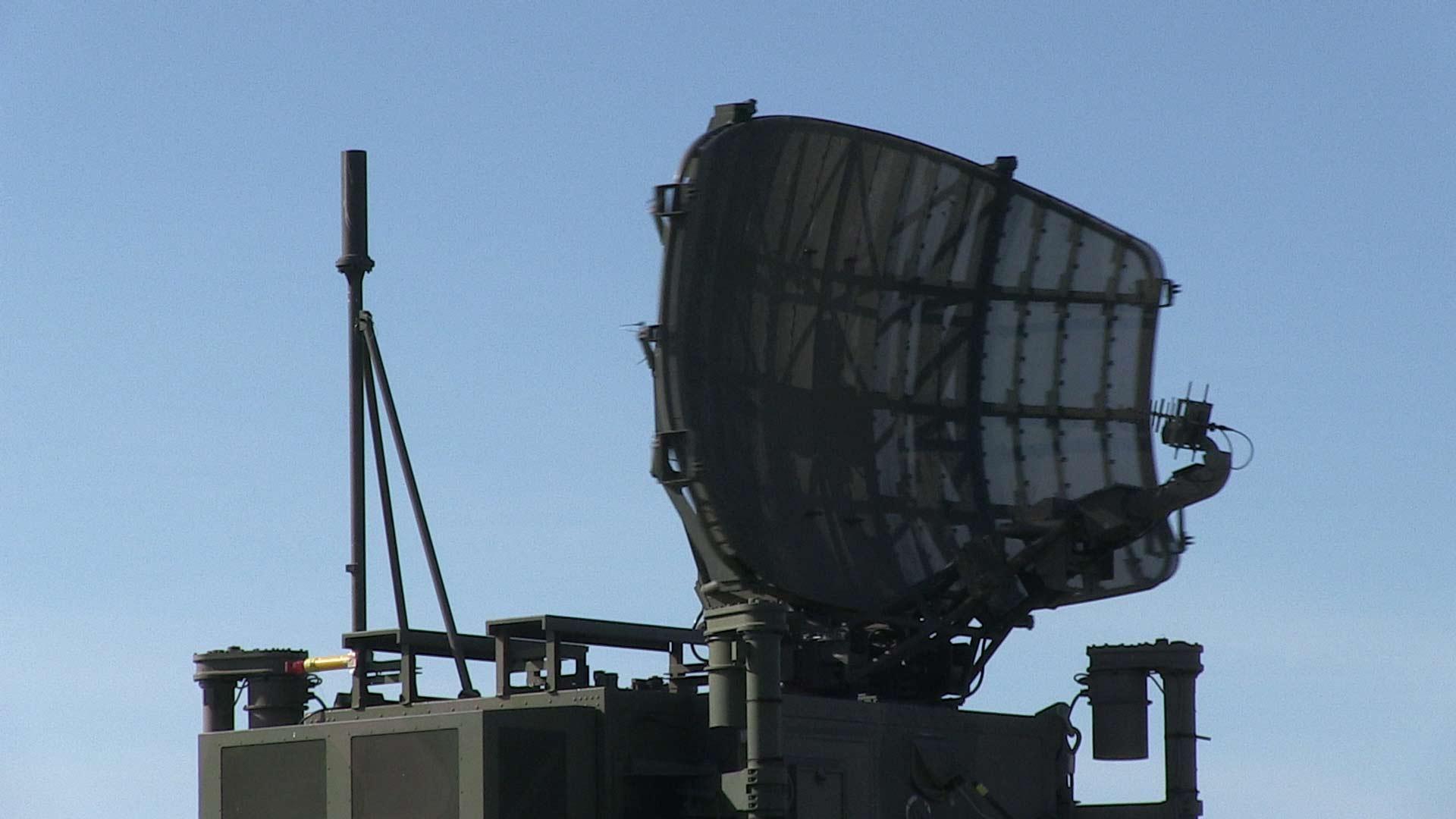 rotating radar